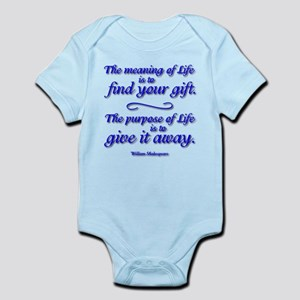 Meaning of LIFE Infant Bodysuit