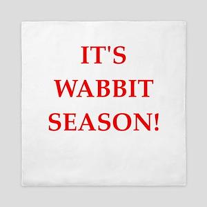 wabbit season Queen Duvet