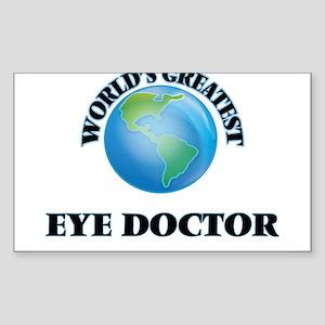 World's Greatest Eye Doctor Sticker