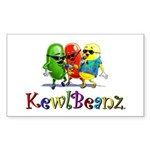 KewlBeanz Rectangle Sticker