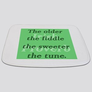 The Older The Fiddle The Sweeter The Tune Bathmat
