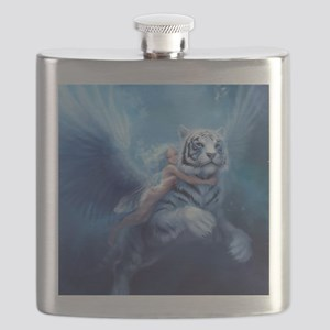 fairy and flying tiger Flask