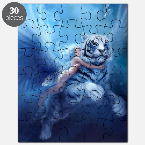 fairy and flying tiger Puzzle