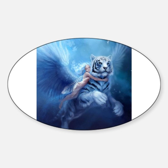 fairy and flying tiger Decal