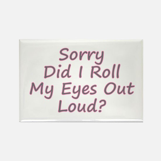Roll My Eyes Magnets