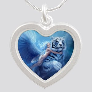 fairy and flying tiger Necklaces