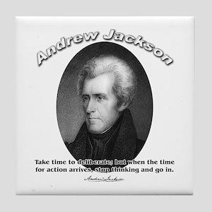 Andrew Jackson 03 Tile Coaster