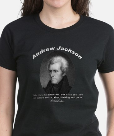 Andrew Jackson 03 Women's Dark T-Shirt