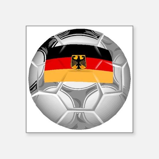 Germany Soccer Ball Sticker
