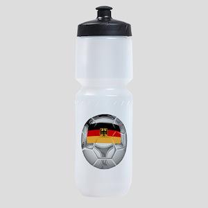 Germany Soccer Ball Sports Bottle