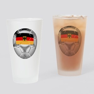Germany Soccer Ball Drinking Glass