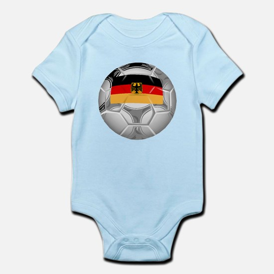Germany Soccer Ball Body Suit