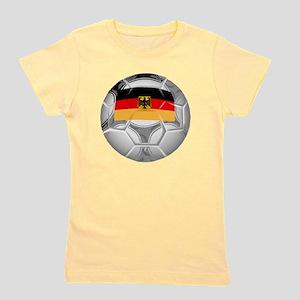 Germany Soccer Ball Girl's Tee