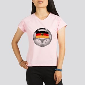 Germany Soccer Ball Performance Dry T-Shirt