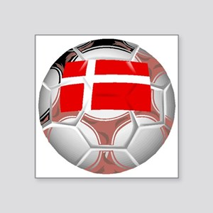 Denmark Soccer Ball Sticker
