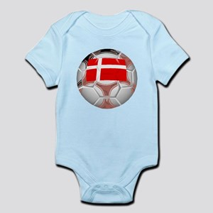 Denmark Soccer Ball Body Suit