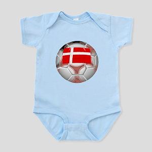 Denmark Soccer Ball Body Suit
