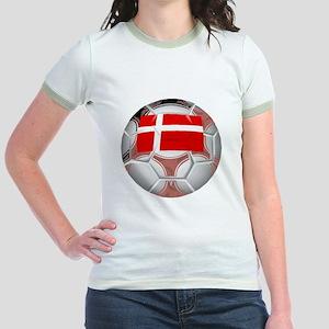 Denmark Soccer Ball T-Shirt