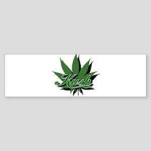 Kush with Leaf Bumper Sticker