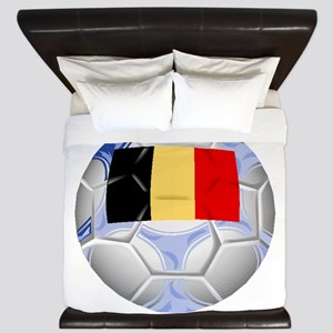 Belgium Soccer Ball King Duvet