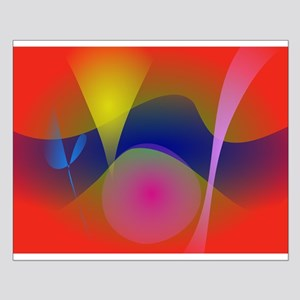 Abstract Volcano Posters