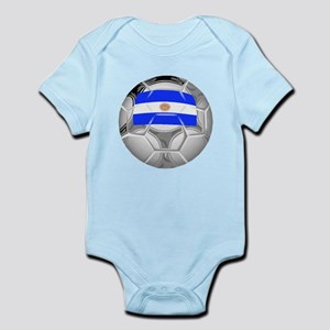 Argentina Soccer Ball Body Suit