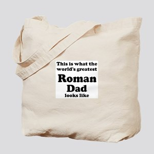 Roman dad looks like Tote Bag