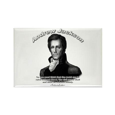 Andrew Jackson 04 Rectangle Magnet