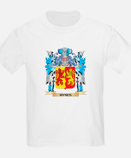 Hynes Coat of Arms - Family Crest T-Shirt