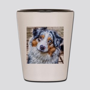 Australian Shepherd Shot Glass