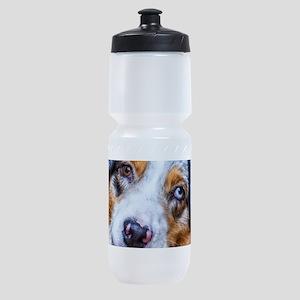 Australian Shepherd Sports Bottle