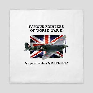 Supermarine Spitfire Queen Duvet