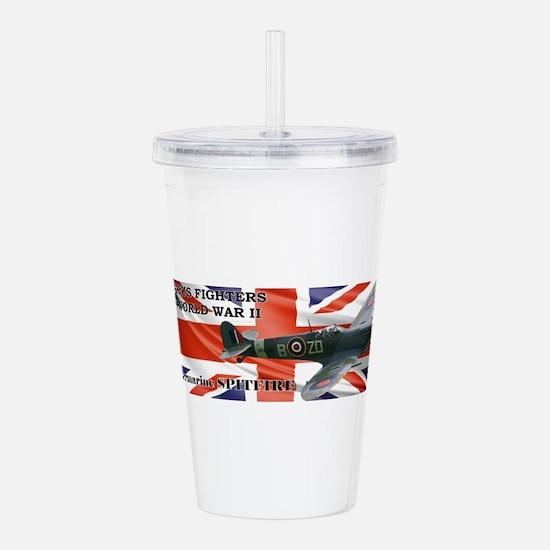 Supermarine Spitfire Acrylic Double-wall Tumbler