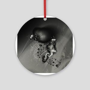 Fireflies Fractal Ornament (Round)