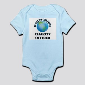 World's Greatest Charity Officer Body Suit