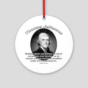 Thomas Jefferson 01 Ornament (Round)