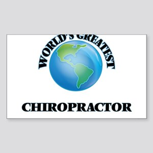 World's Greatest Chiropractor Sticker