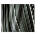 Grey Pleats King Duvet