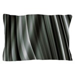 Grey Pleats Pillow Case