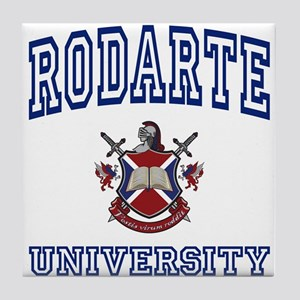 RODARTE University Tile Coaster
