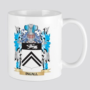 Ingall Coat of Arms - Family Crest Mugs