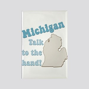 Michigan State Rectangle Magnet