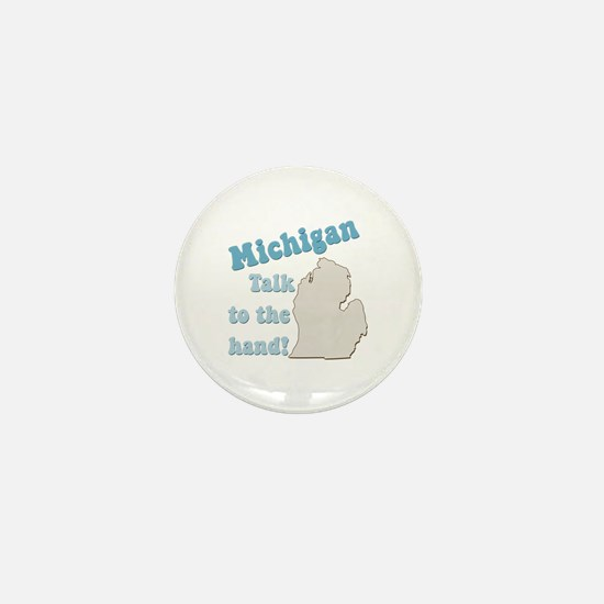 Michigan State Mini Button