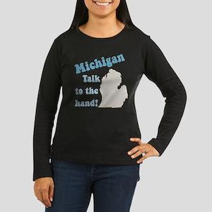 Michigan State Women's Long Sleeve Dark T-Shirt