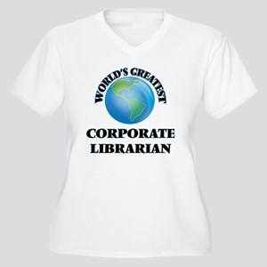 World's Greatest Corporate Librarian Plus Size T-S