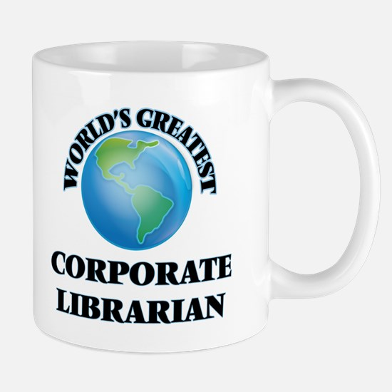 World's Greatest Corporate Librarian Mugs