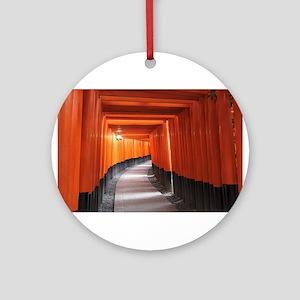 -Japan- Kyoto TORII Ornament (Round)