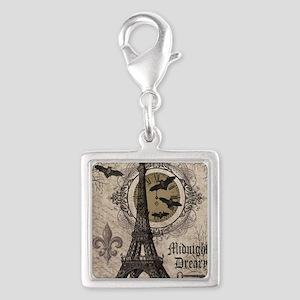 Modern vintage Halloween Eiffel Tower Charms