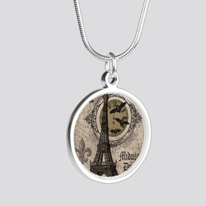 Modern vintage Halloween Eiffel Tower Necklaces