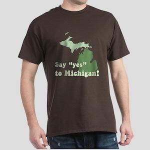 Vintage Michigan Dark T-Shirt